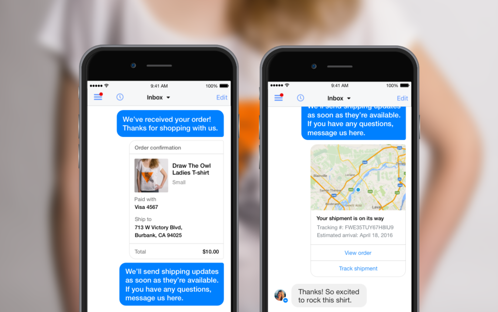 Shopify's Messenger integration for a personalized customer service experience