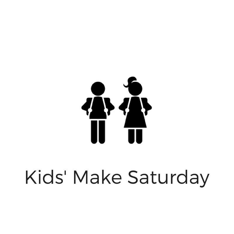 We hold special Saturday workshops for young makers to tinker and learn. Click here to learn more.