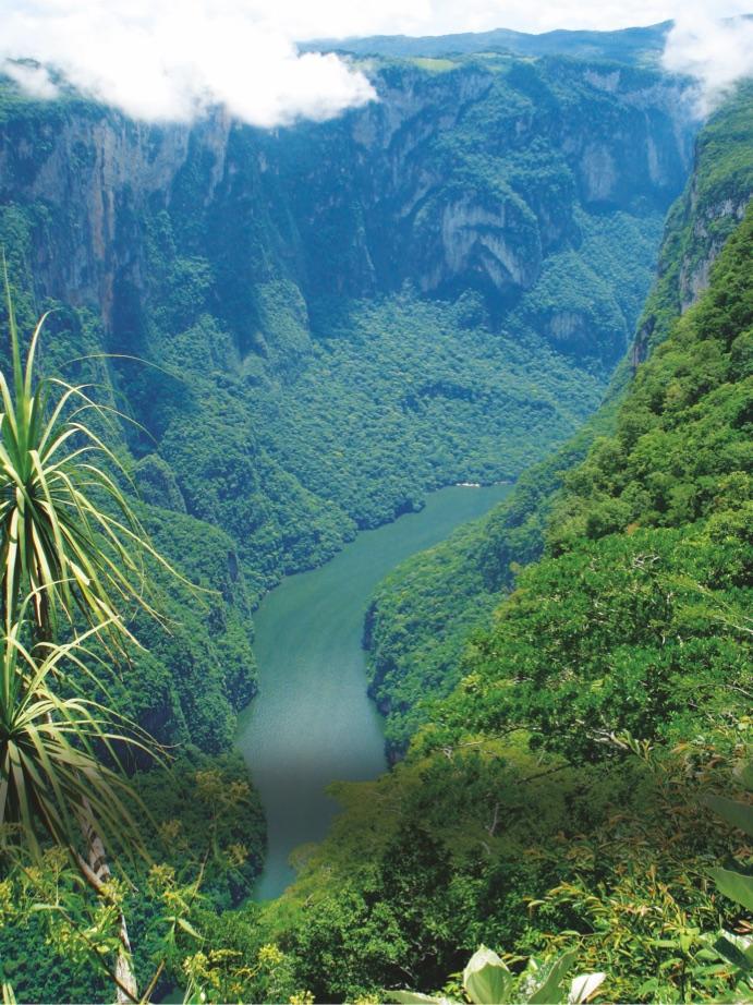 Cañón del Sumidero  , Chiapas, Mexico