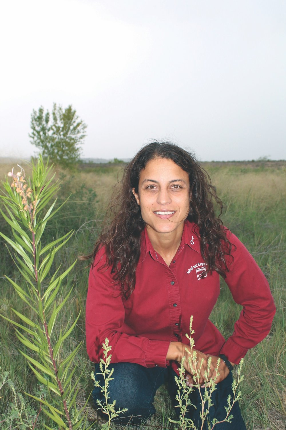 Assistant professor Amy Ganguli, New Mexico State University