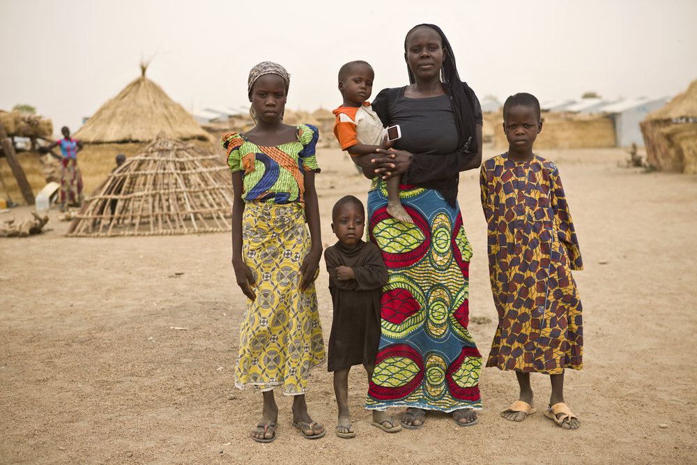 Most families here have escaped persecution from Boko Haram in neighbouring Nigeria.