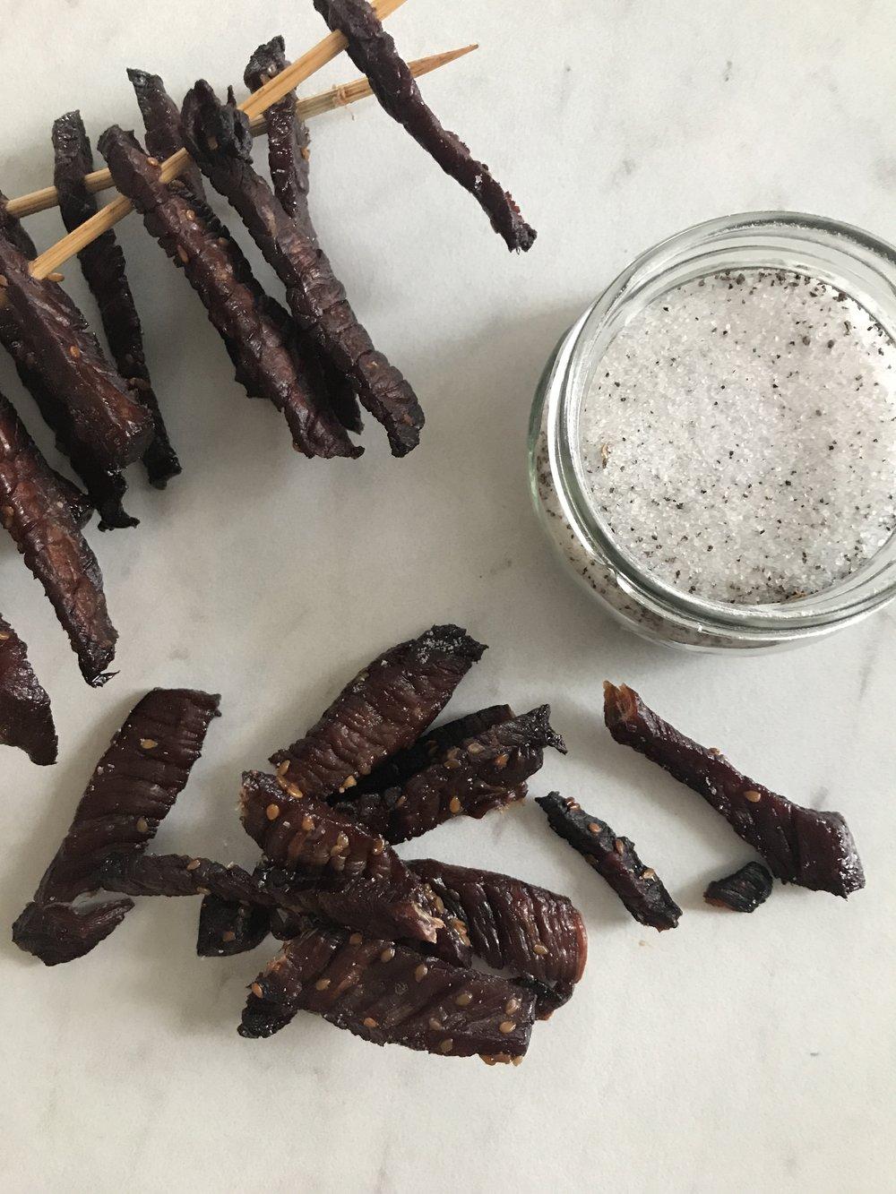 Add truffle salt to finish!