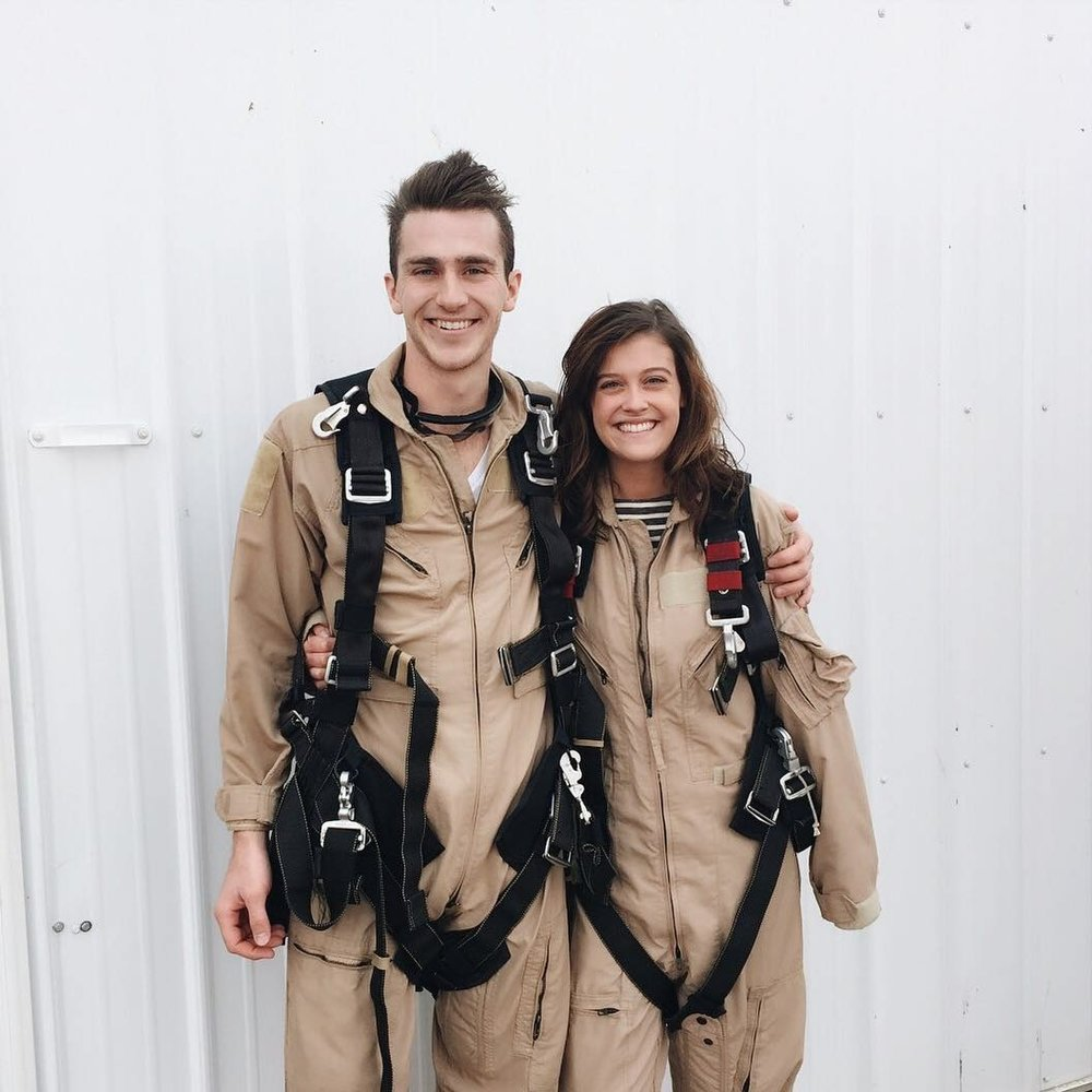 First time skydiving, Auguest 2015