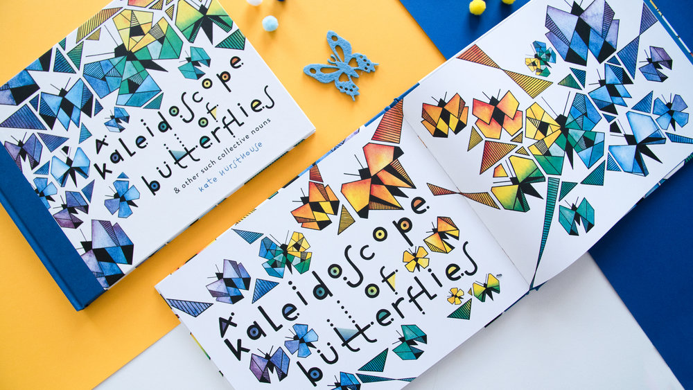 """A Kaleidoscope of Butterflies"", Kate Hursthouse"