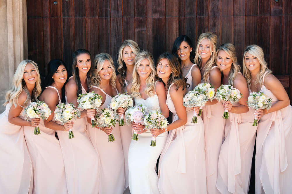 A Beautiful Gathering Bridesmaids