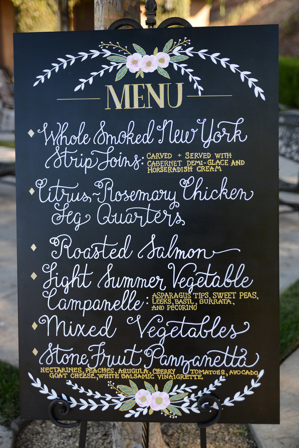 A Beautiful Gathering Menu