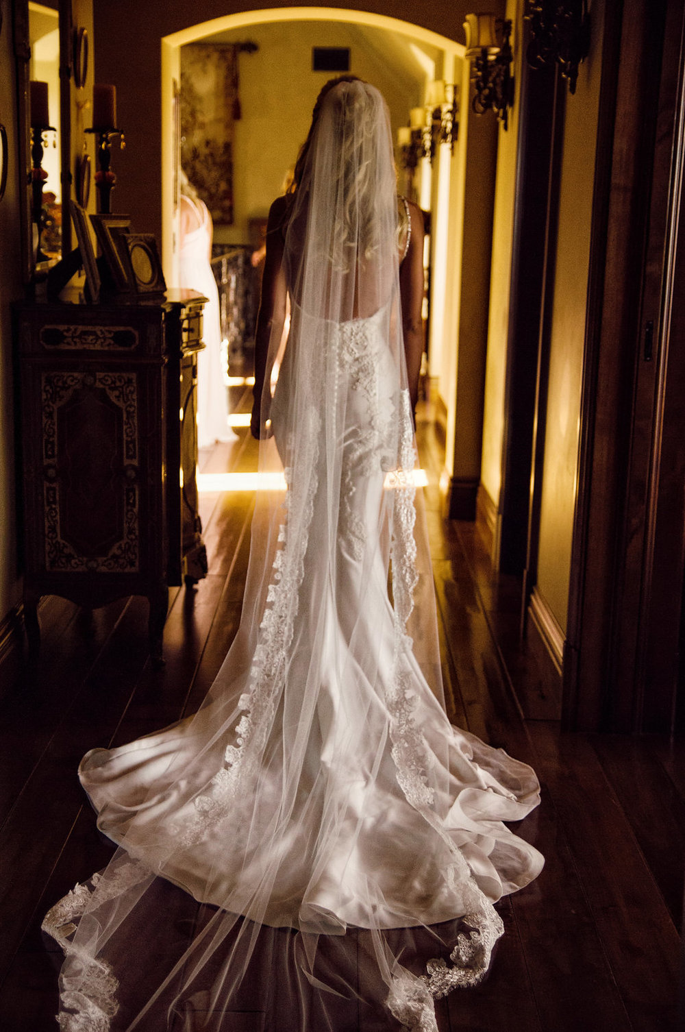 A Beautiful Gathering Wedding Dress