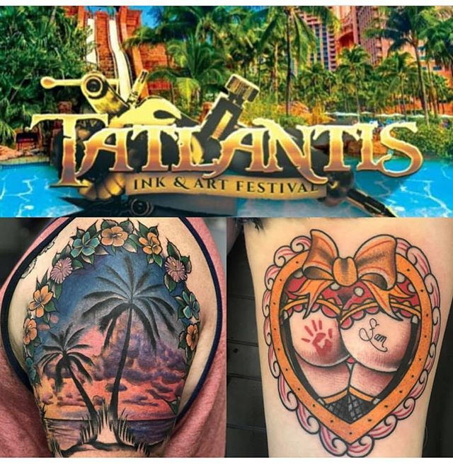 @matinktx will be attending @tatlantisartfest this fall! Hit him up for appointments and shark diving! 😳👍