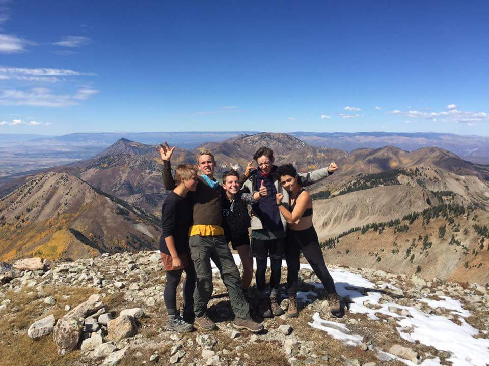 October, 2016 - summit of Mt. Guero, West Elk Mountains, Colorado, 12,058'