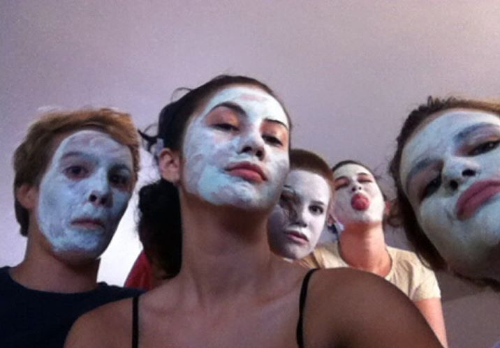 Catherine Canann Group Masques