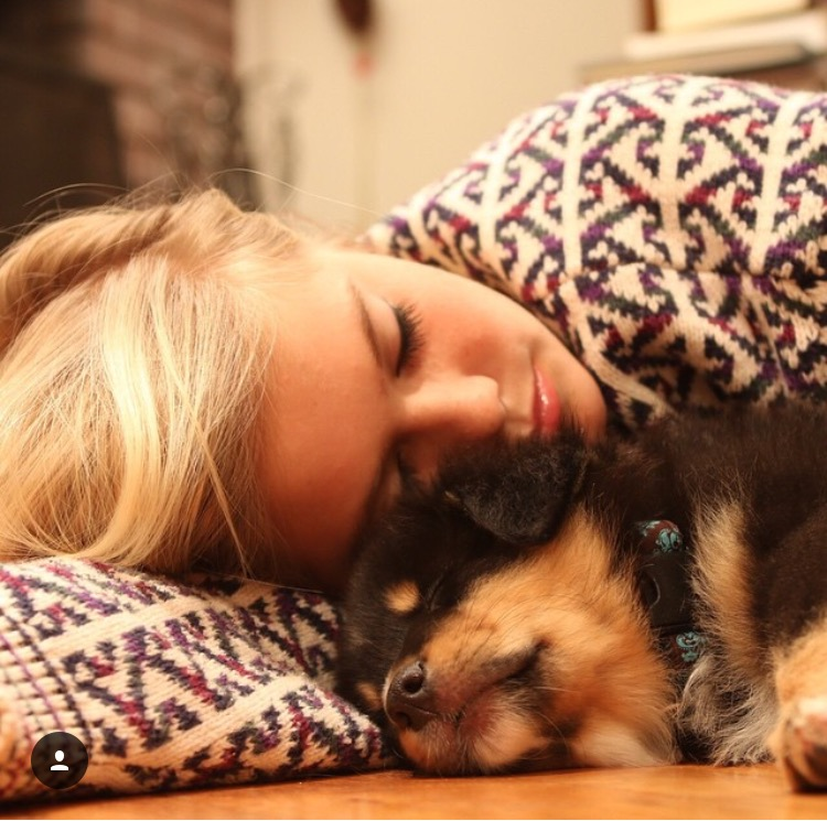 Catherine Canann asleep Stella 2014