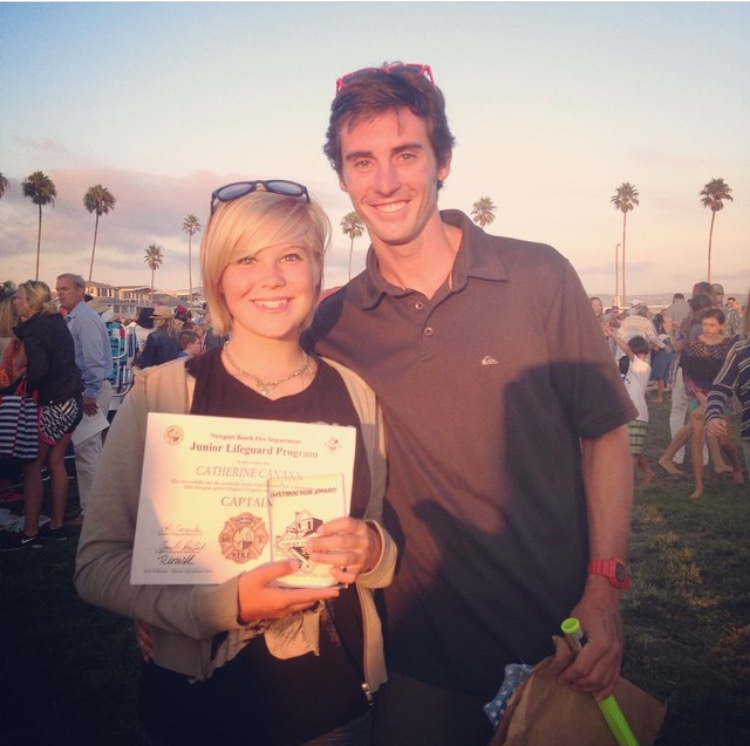 Newport Beach Junior Stewards - Instructors Award!