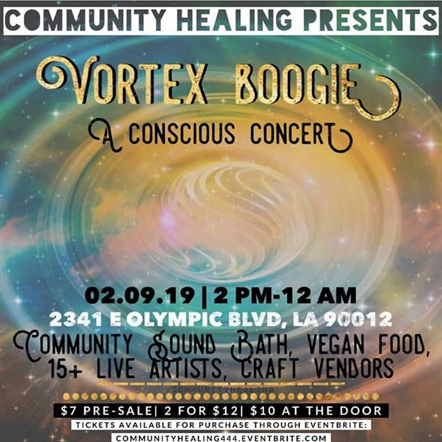 Mañana, I'll be holding down the Dao Sound System with extra sound reinforcement by @thevortex.la 🔊🔊🔊 @communityhealing has once again brought together an amazing group of artists, therapists, and food vendors. I'm super dooper excited