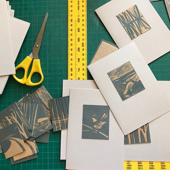 Lino Block Prints