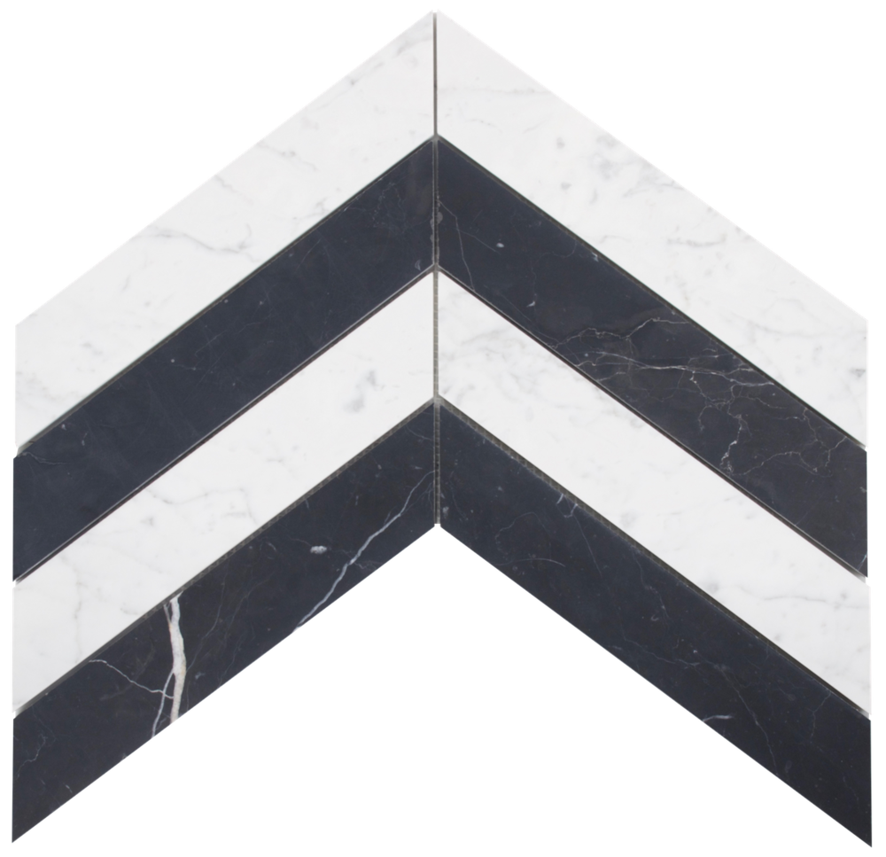 Carrara C & Nero Marquina                                **Available to Showroom Partners only**