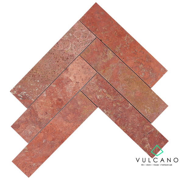 Rosa Travertine 305 x 75mm Subway Tile