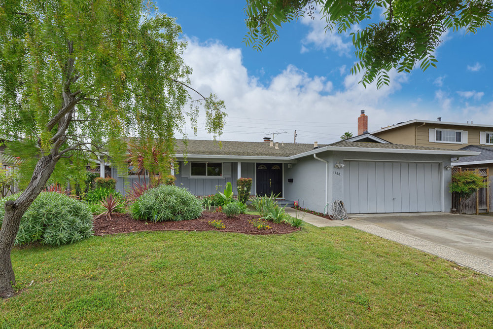 1788 Cardel Way, San Jose  3 bed • 2 bath • 1,570 sqft interior