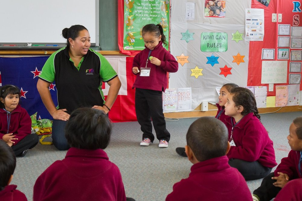 Kiwi Can in the classroom. Image courtesy of  dinglefoundation.org.nz/kiwican