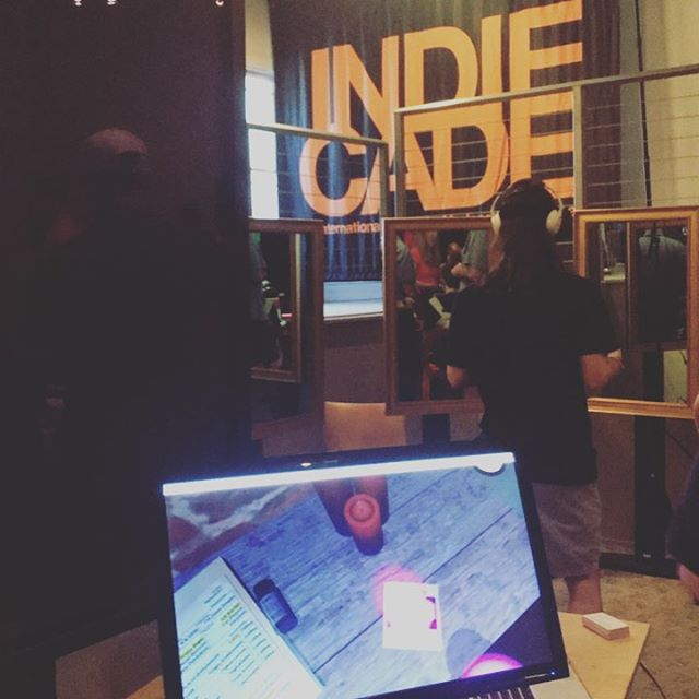 Come find us at #indiecade 2017 GameTasting! #VR #storytelling #CIA