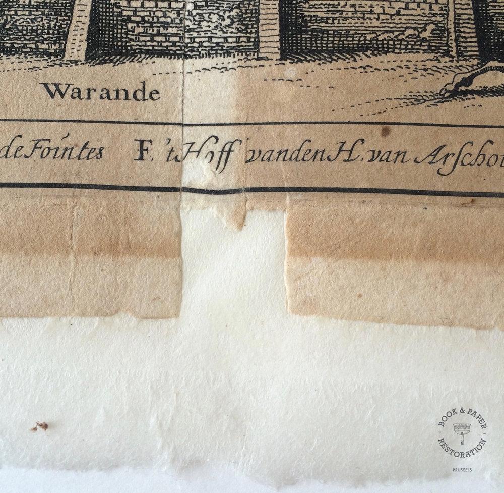 Restauration de papier