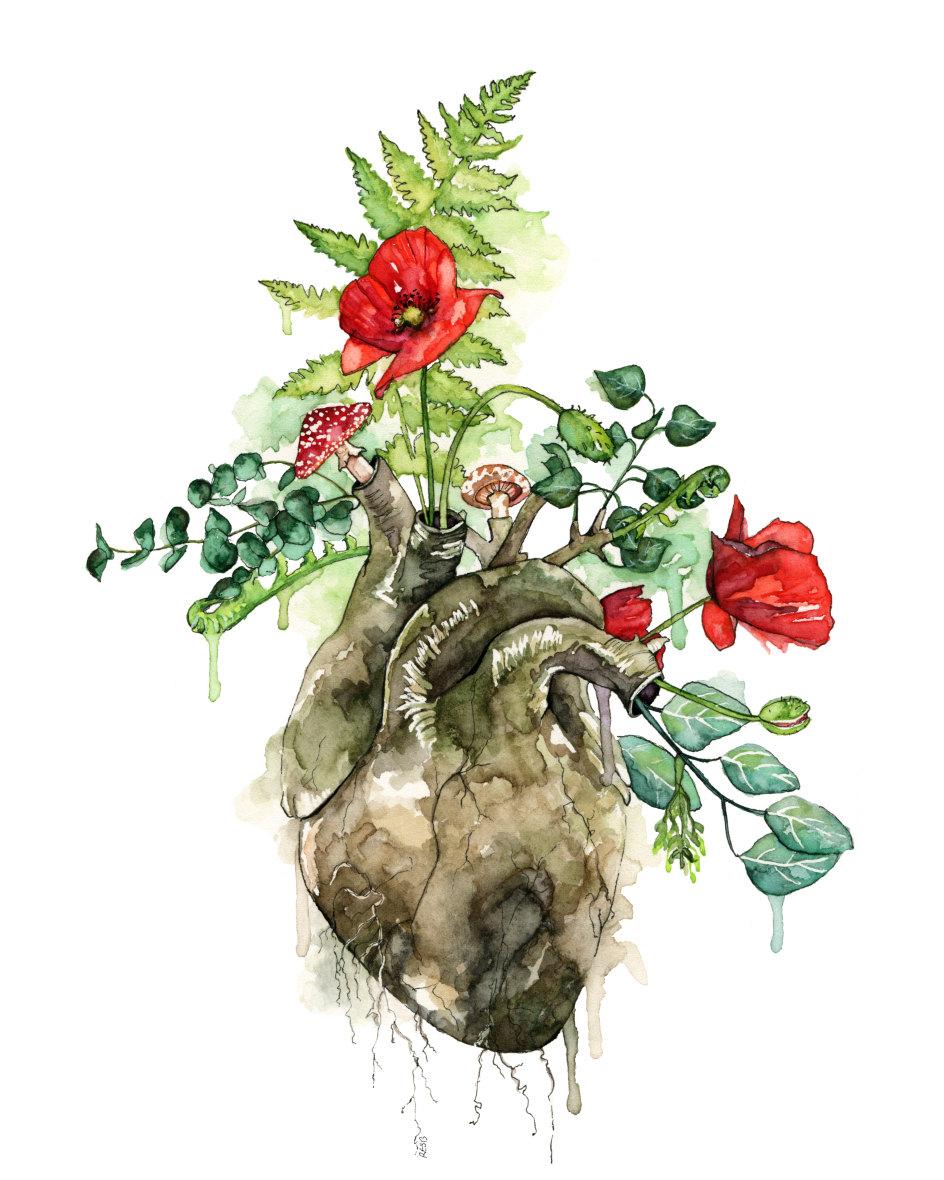 Overgrown [A Sylvan Heart] by Rachel E. S. Byler| TheColorfulCatStudio