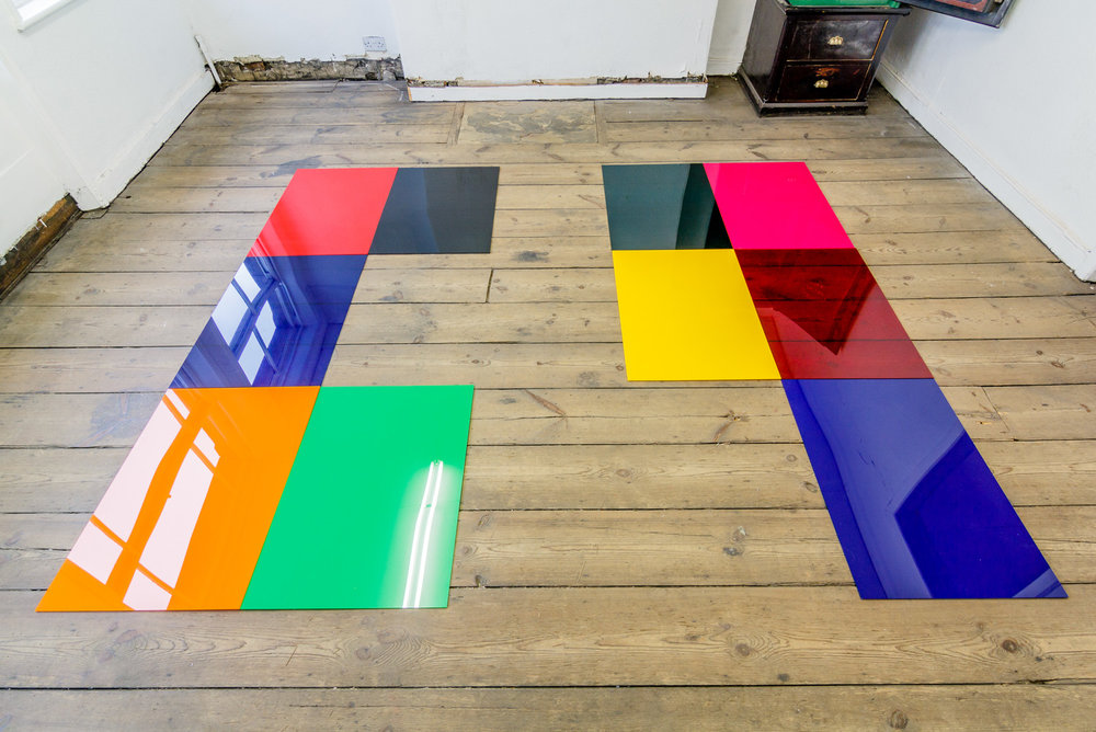 Holly Rowan Hesson, No more disco, 2016, perspex, dimensions variable (photograph: Jules Lister)