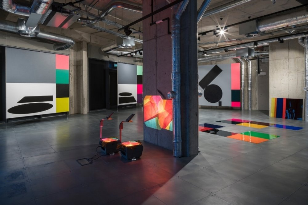 Conversation in Colour  (partial installation view) Pic credit Vassilis Skopelitis