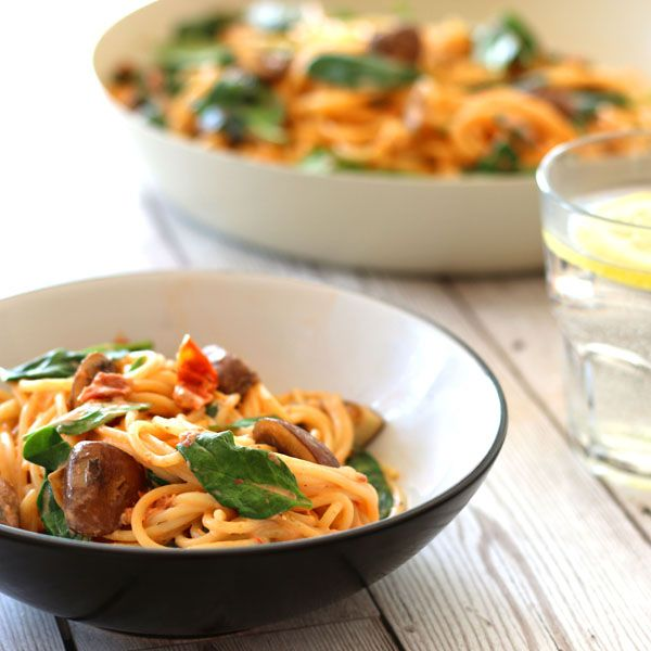 a quick and tasty spaghetti recipe - Lunch, Dinner