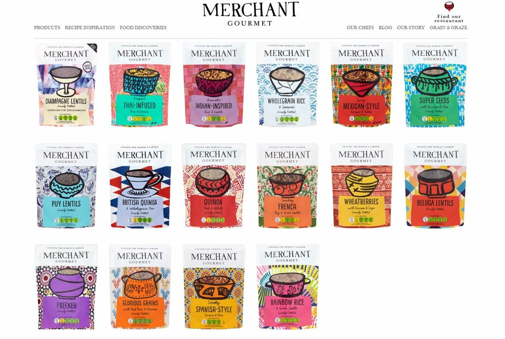 Merchant Gourmet are available at Amazon, Sainsbury's, Ocado, Waitrose and Morrisons