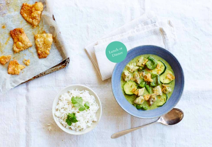 Thai Green Chicken Curry Featured On Bbcgoodfoodshows Tiny Budget