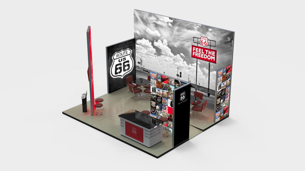 Bisigned ROUTE 66 Booth 2015