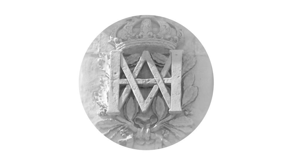 Bisigned Marie-Antoinette Monogram