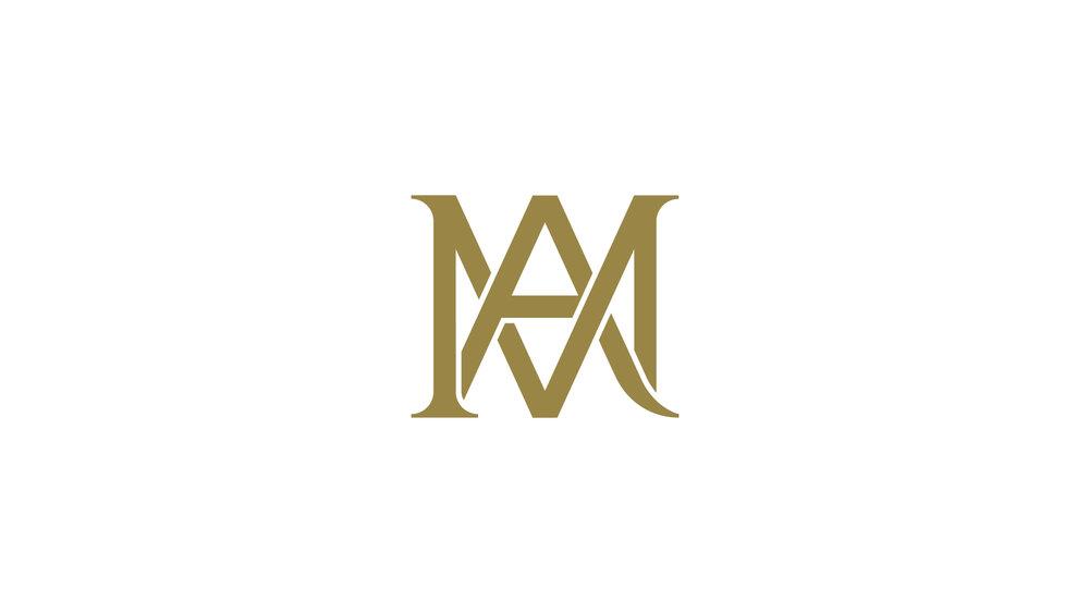Bisigned Marie-Antoinette Logo Symbol