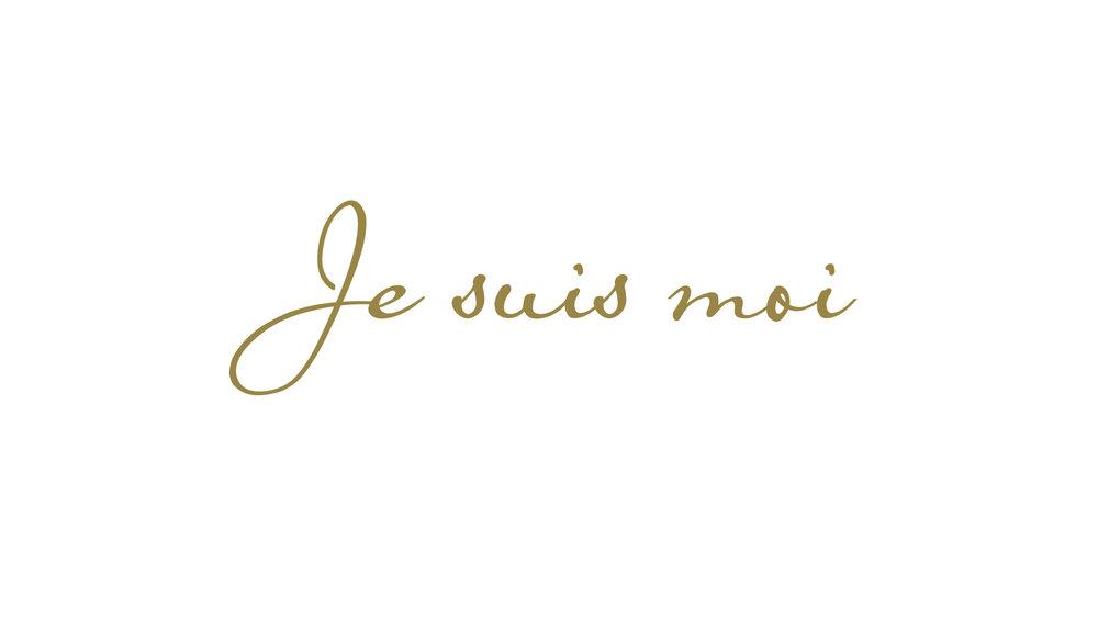 Bisigned Marie-Antoinette Logo Tagline