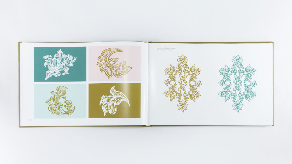 Bisigned Marie-Antoinette Style Guide Artworks