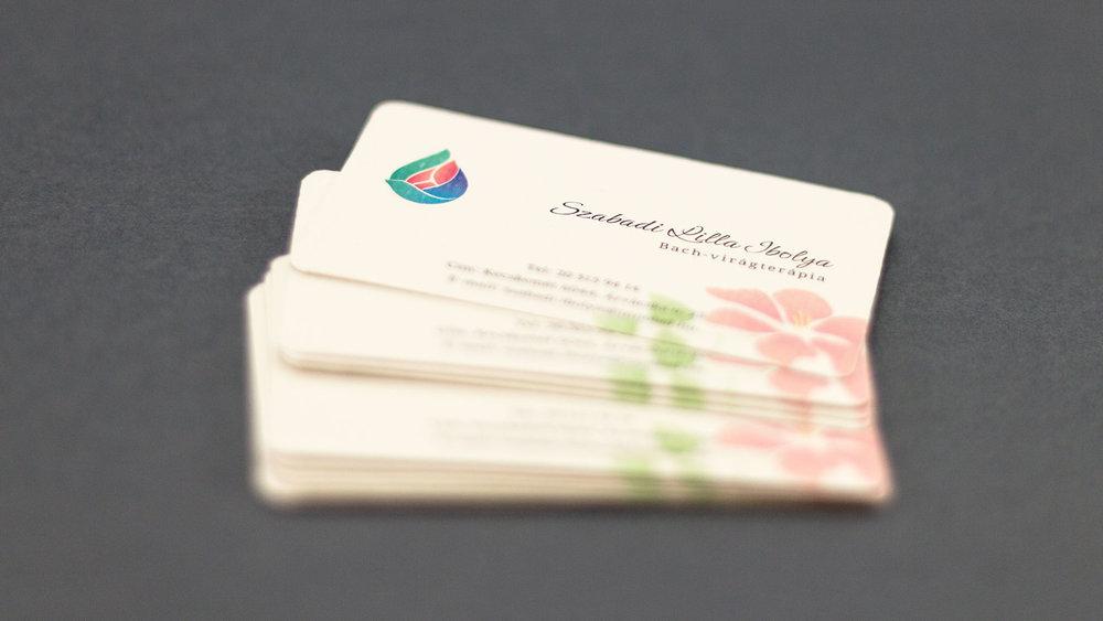 Bisigned Szabadi Lilla Ibolya Business Cards packed