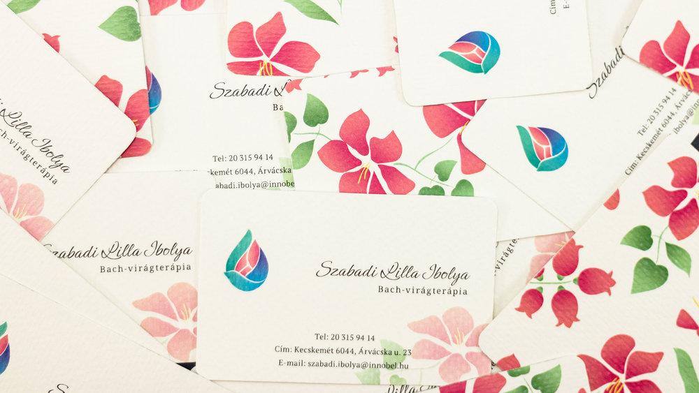 Bisigned Szabadi Lilla Ibolya Business Cards