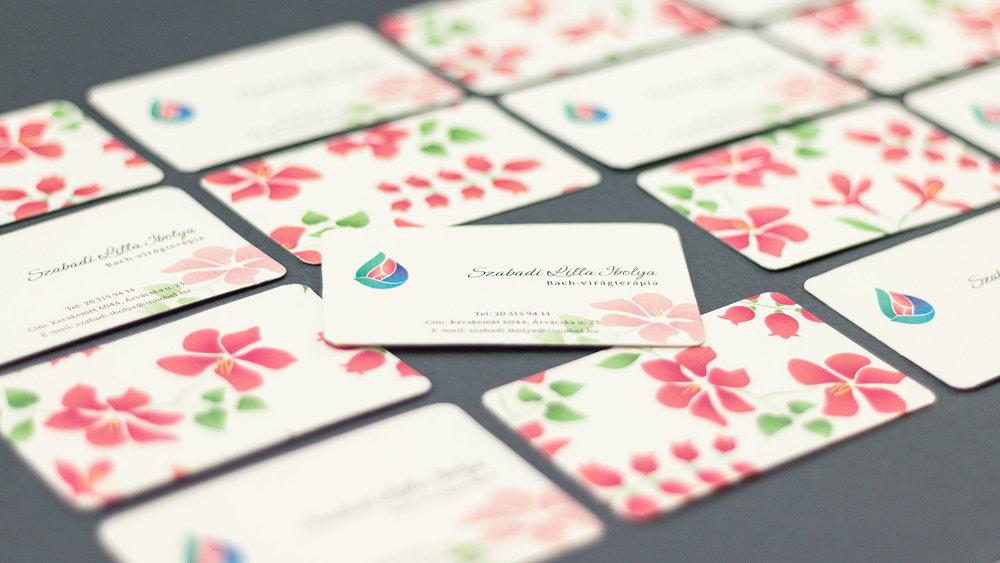 Bisigned Szabadi Lilla Ibolya Business Cards grid