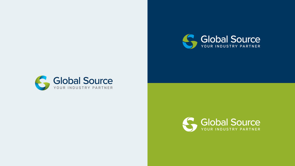 Global Source Logo Variations
