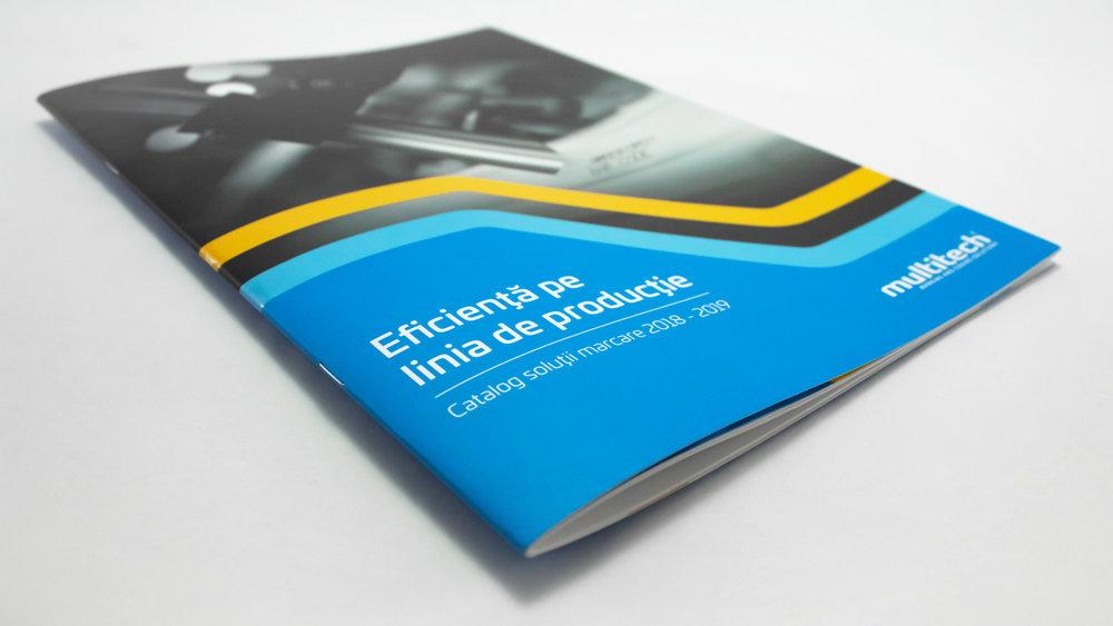 Bisigned - Multitech brand identity design - Print design - Brochure design