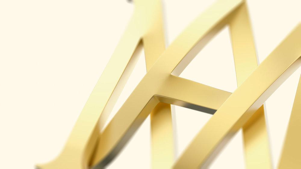 Marie-Antoinette - Brand identity design