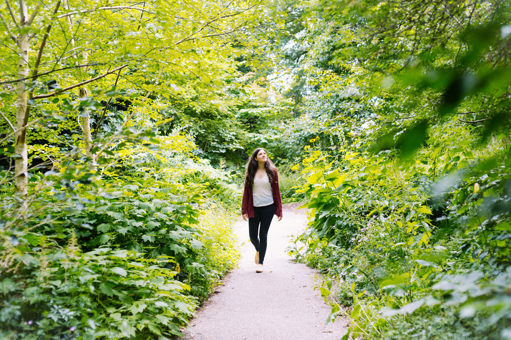Finding hidden spaces in the  Sheffield Botanical Gardens