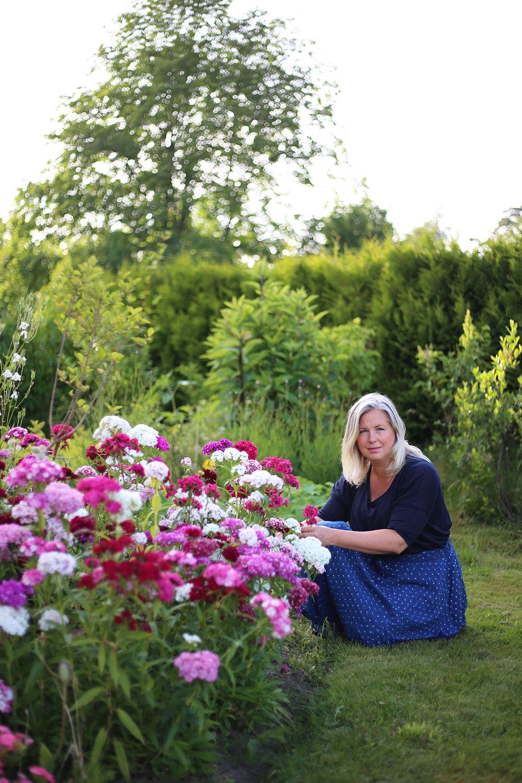 I min trädgård när den prunkar som vackrast i juli.