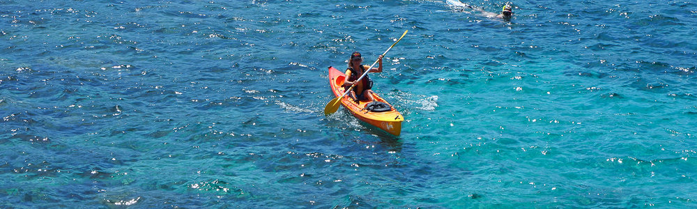 Keida Kayak hire in Sant Elm