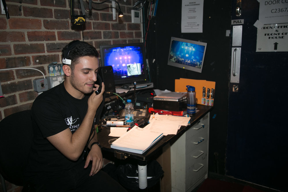Technical Theatre Scholarship - FIND OUT MORE →
