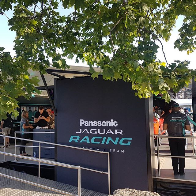 The final day of the FIA Formula E championships in Montreal is here. Over the last couple of months we've completed Monaco, Paris, Berlin, NYC & Montreal as part of the Jaguar panasonic E-village team and what an amazing time we've had being part of such an amazing event. • • •  #eventprofs #fiaformulae #eprix #canada #usa #europe #projectmanager #events #xkxprojects #design #build #create