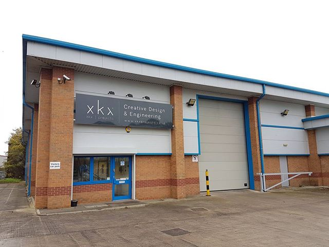 The sign's up on the New Building and work inside is in full swing! We're all excited for the next chapter of XKX and can't wait to share more over the coming weeks. #xkxprojects #eventprofs #events #manufacture #creative #design #engineering