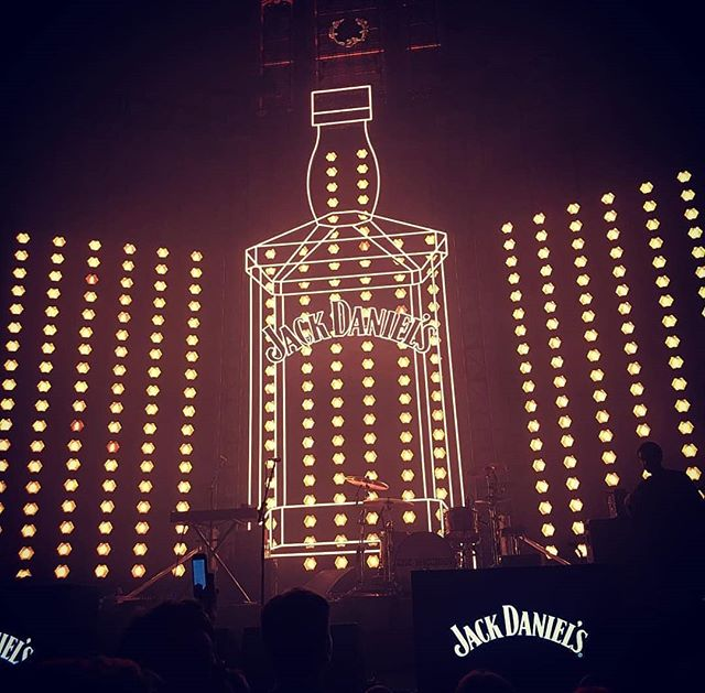 If Jack Daniel's did gigs. . .  Oh wait they do! And XKX Projects was lucky enough to be apart of such an amazing project for @weareamplify. Who doesn't want a 7.5m high Jack Daniel's bottle?  @lightinitiative @lightscontrolrigging  #eventprofs #events #design #build #create #manufacturing