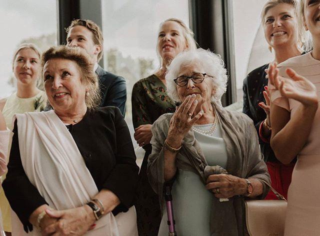 Zo'n reactie van je Oma #onbetaalbaar