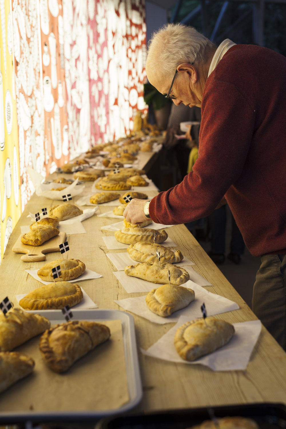 6th Annual World Pasty Championships at The Eden Project